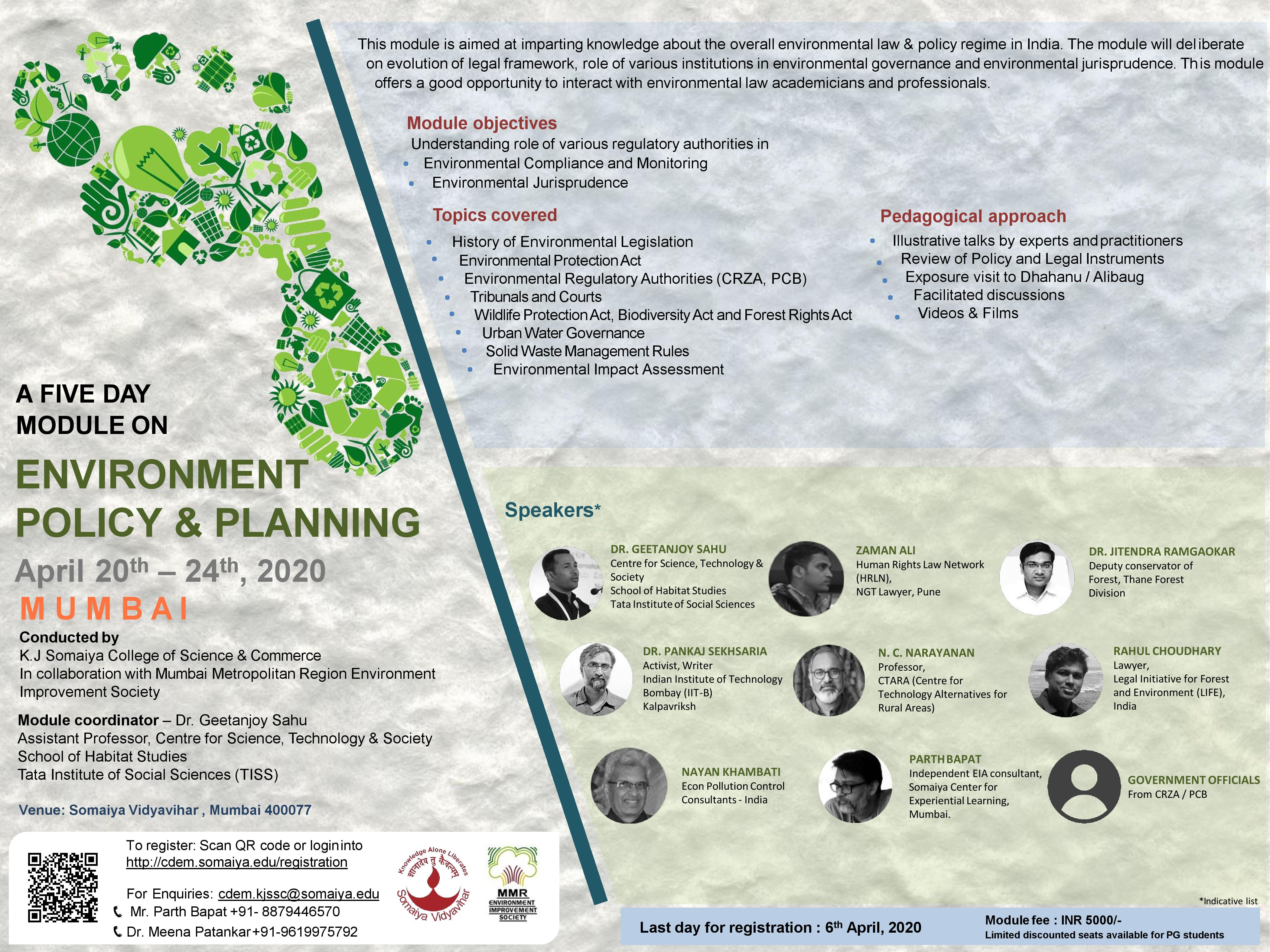 Capacity Development Programms In Environment Management